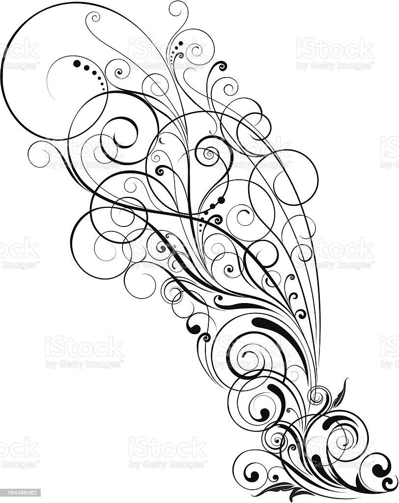 Swirl floral royalty-free swirl floral stock vector art & more images of abstract
