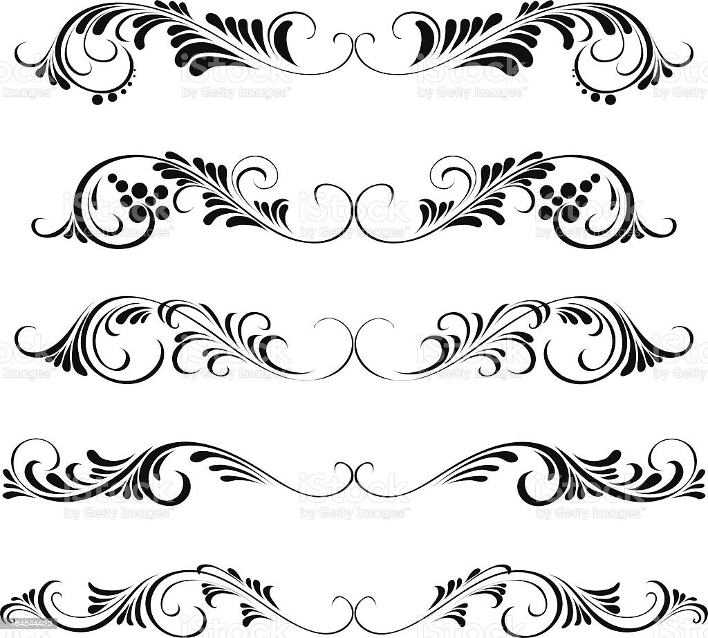 Swirl royalty-free stock vector art