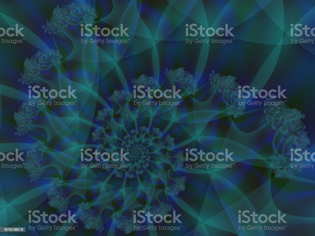 Swirled abstract background vector art illustration