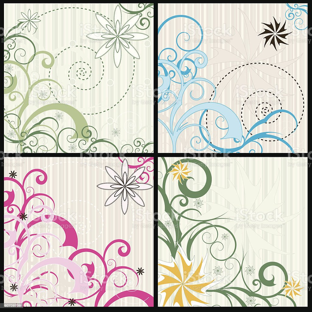Swirls and Curls royalty-free swirls and curls stock vector art & more images of art