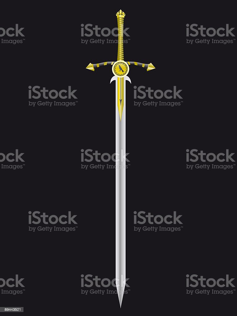 sword of the king royalty-free sword of the king stock vector art & more images of color image