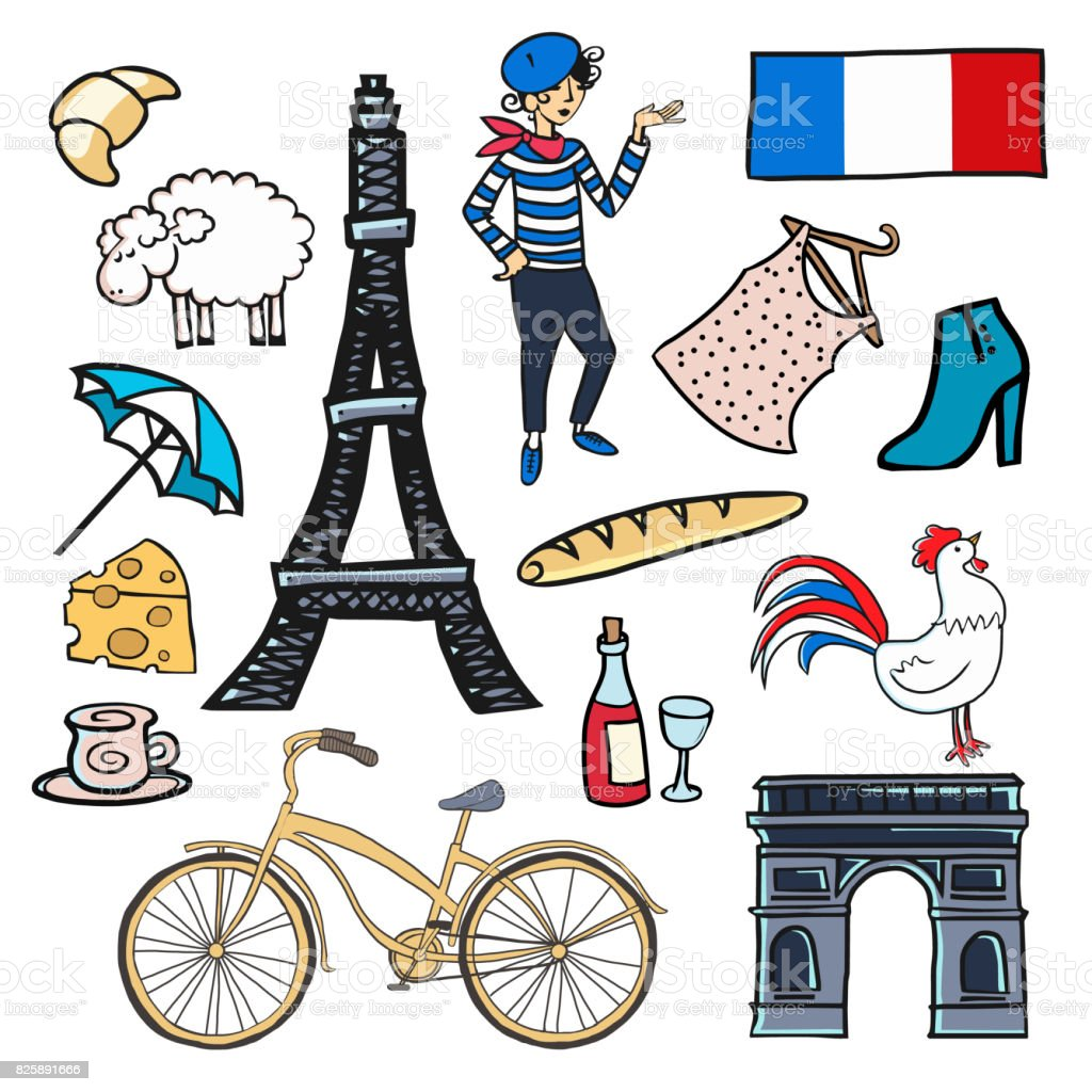 Symbols of france stock vector art more images of alexander symbols of france royalty free symbols of france stock vector art amp more images biocorpaavc