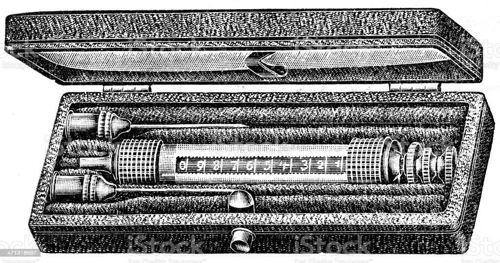 Syringe royalty-free stock vector art