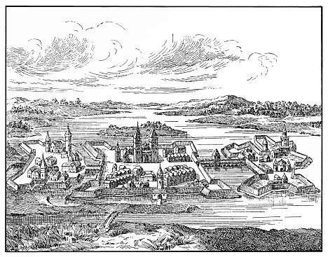 Szigetvár in XVI century , is a town in Baranya County in southern Hungary