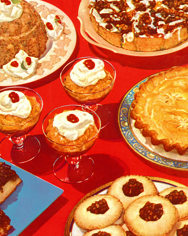 Table Full of Desserts