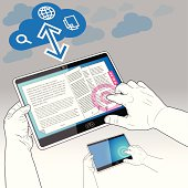 Tablet PC, eBook and the Data Cloud