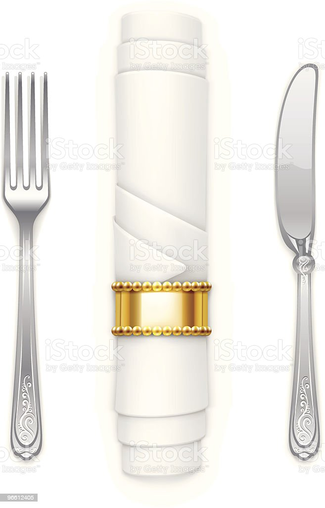 Tableware - Royalty-free Clean stock vector