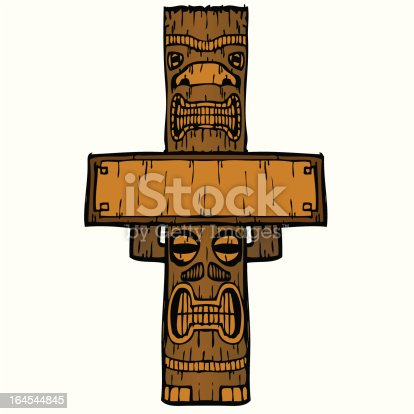 istock Tale of Two Tikis 164544845