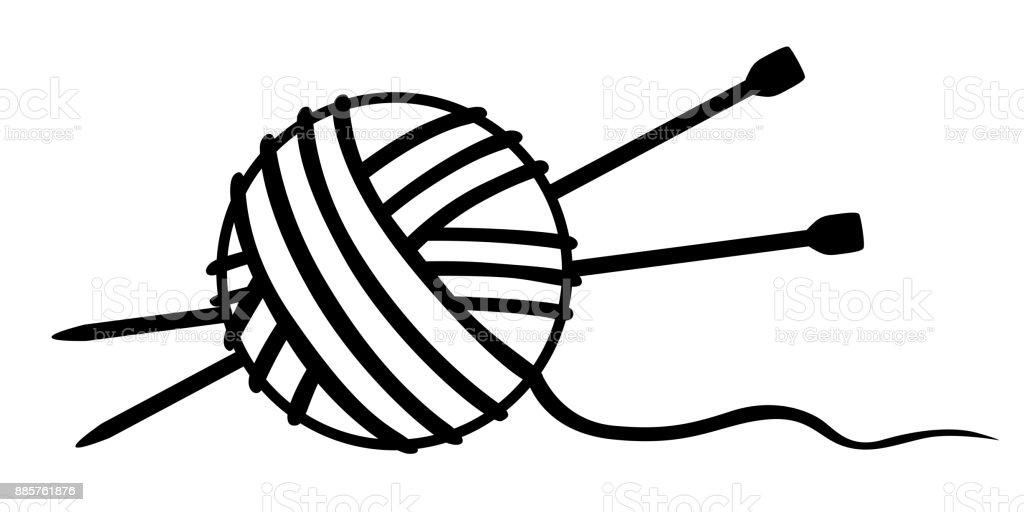 royalty free ball of yarn clip art vector images illustrations rh istockphoto com