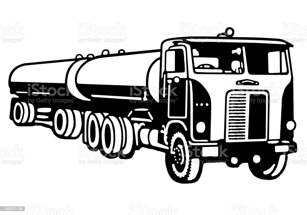 tanker truck stock vector art & more images of close-up 132072135