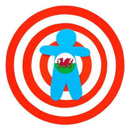 Targeted welsh boy