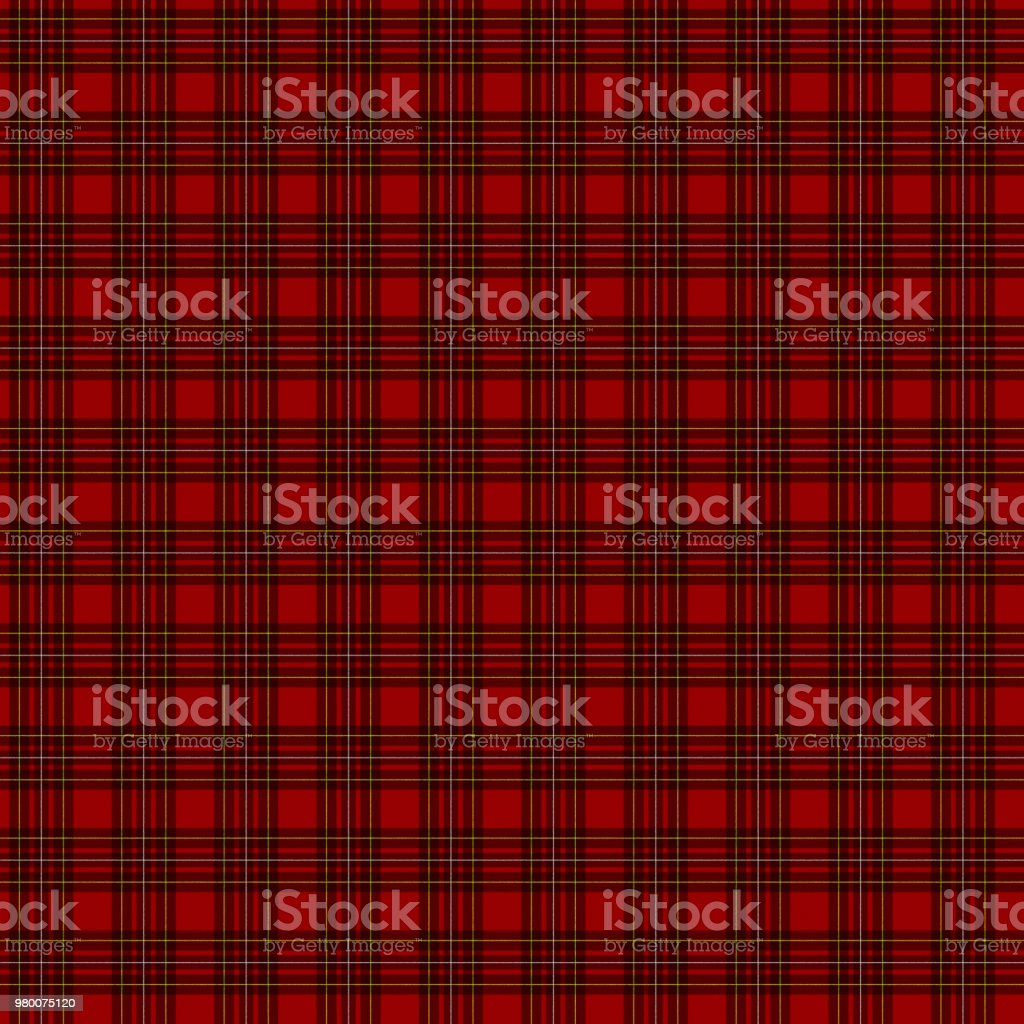 Tartan check seamless pattern(red) royalty-free tartan check seamless pattern stock vector art & more images of backgrounds