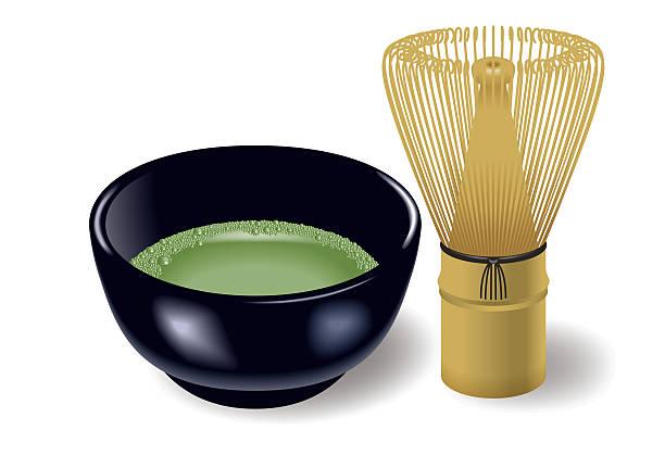 日本のお茶セットします。 - 抹茶点のイラスト素材/クリップアート素材/マンガ素材/アイコン素材