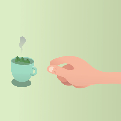 Tea Time Stock Illustration - Download Image Now