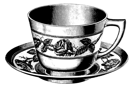 Teacup | Antique Design Illustrations