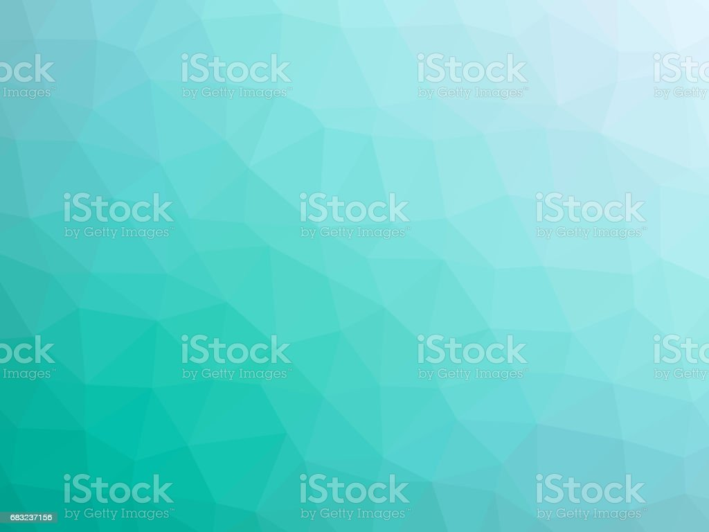 Teal polygon shaped background teal polygon shaped background - arte vetorial de stock e mais imagens de abstrato royalty-free