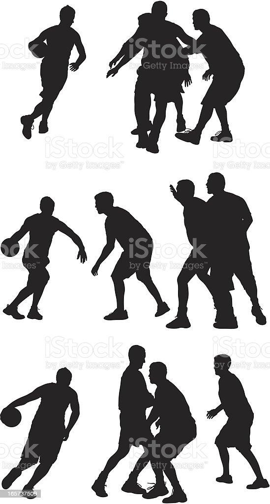 Team sport basketball royalty-free stock vector art