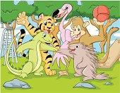 Teamwork of Animals