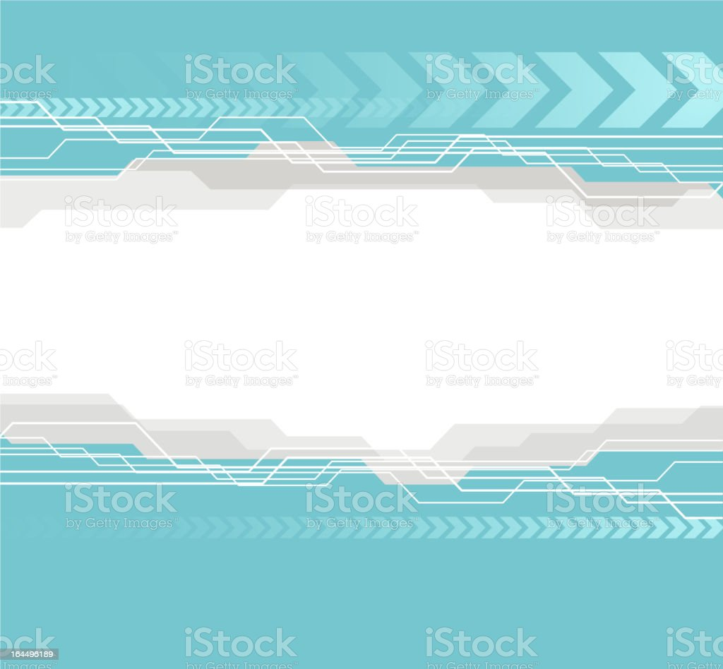 tech abstract background royalty-free stock vector art