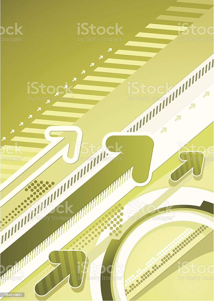 Techno urban background royalty-free stock vector art
