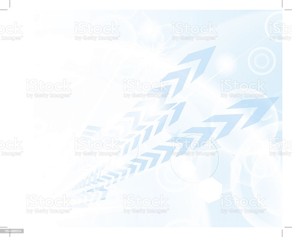 Technological blue background royalty-free stock vector art