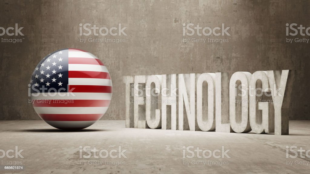 Technology Concept royalty-free technology concept stock vector art & more images of american flag