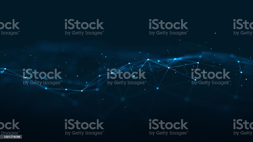 Technology Network Background. royalty-free technology network background stock illustration - download image now