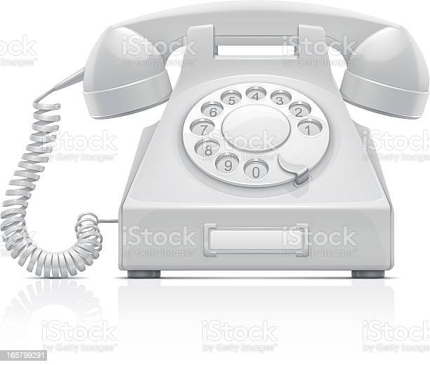 Telephone Stock Illustration - Download Image Now