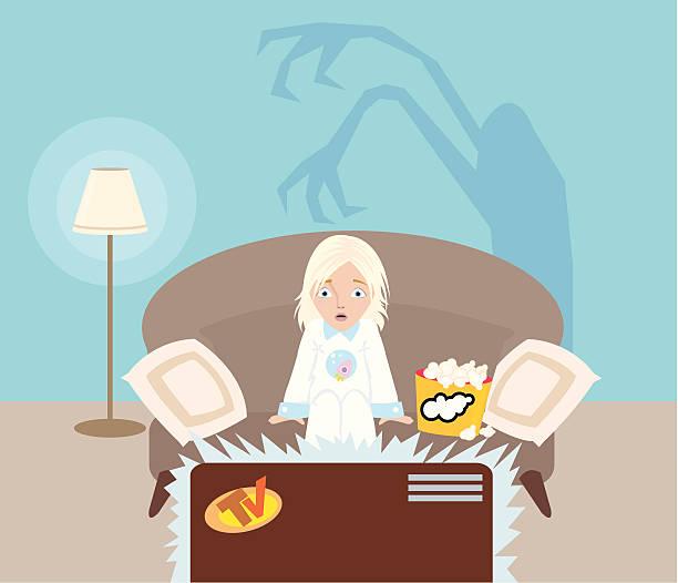 ilustrações de stock, clip art, desenhos animados e ícones de televisão - tv e familia e ecrã