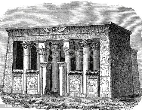 16 Ancient Egyptian Houses Illustrations Clip Art Istock