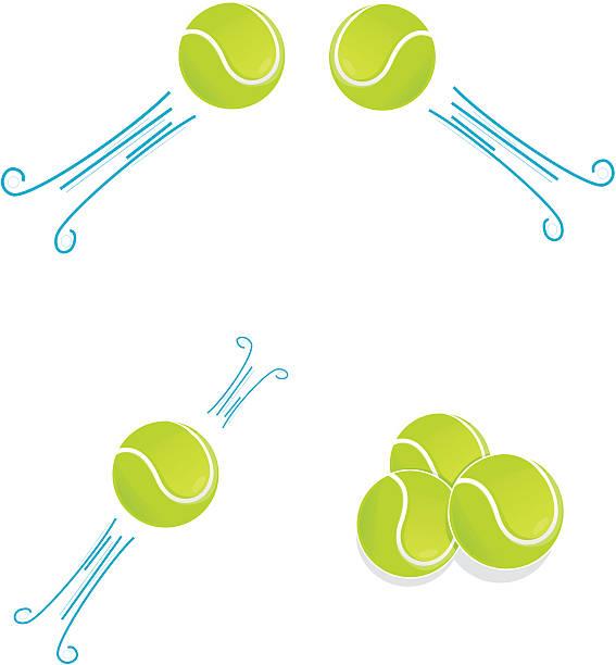 Tennis ball icon styles vector art illustration