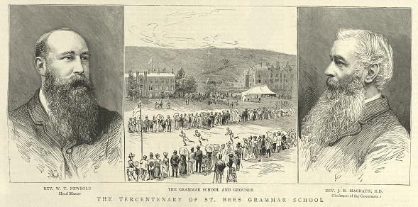Tercentenary of St Bees Grammer School, Cumbria, 19th Century