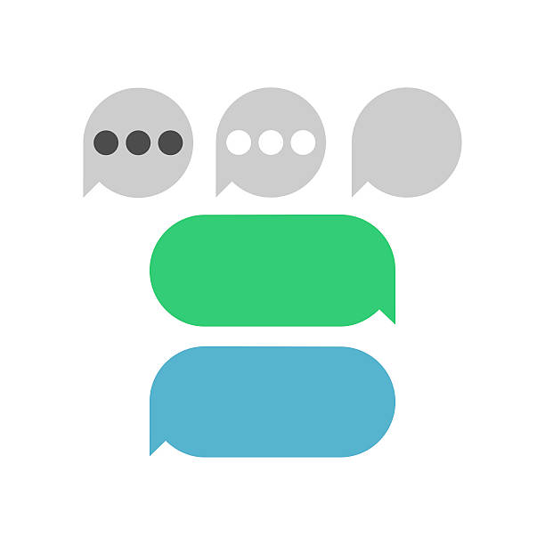 royalty free text message bubble clip art vector images