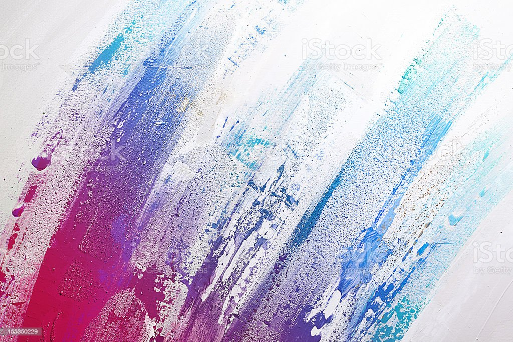 Textured Abstract Paint vector art illustration