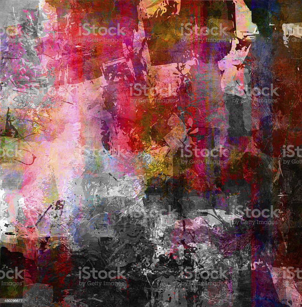 textures mixed media vector art illustration