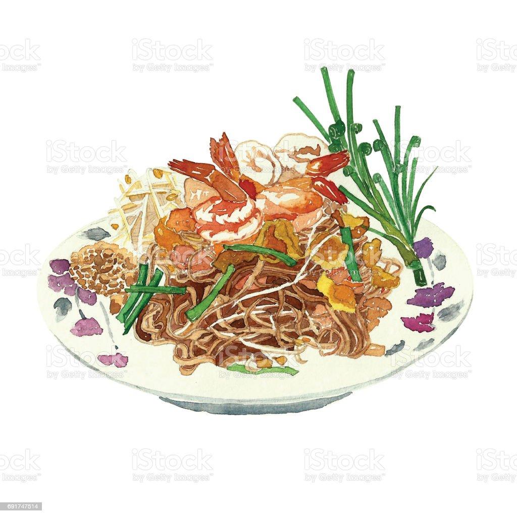 Thai Food On Satellite