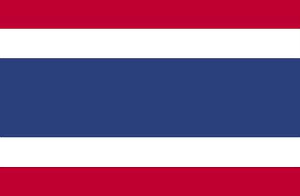 タイ旗 ベクターアートイラスト