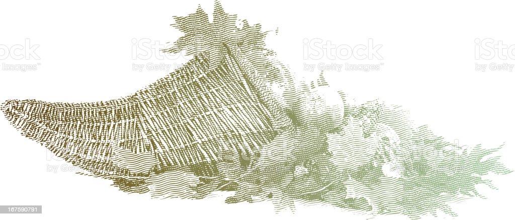 Thanksgiving Cornucopia vector art illustration