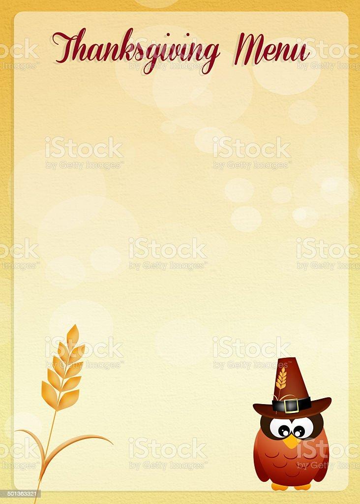 thanksgiving menu royalty-free thanksgiving menu stock vector art & more images of animal
