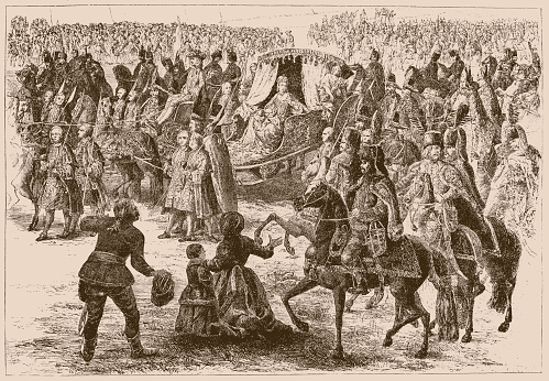 The Arrival of Empress Maria Theresa of Austria (1717-80) at Pressburg (Bratislava) on 25th August 1741