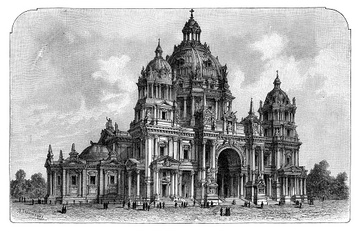 The Berlin Cathedral Germany 1898