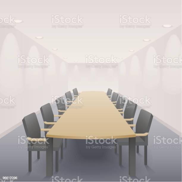Зал Заседаний — стоковая векторная графика и другие изображения на тему Зал заседаний