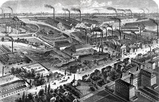 The cast steel factory in Bochum