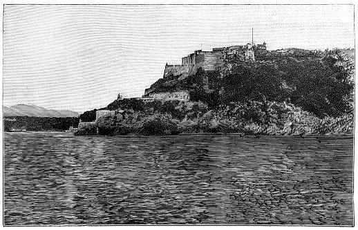The Castillo de San Pedro de la Roca (also known by the less formal title of Castillo del Morro or as San Pedro de la Roca Castle) is a fortress on the coast of the Cuban city of Santiago de Cuba