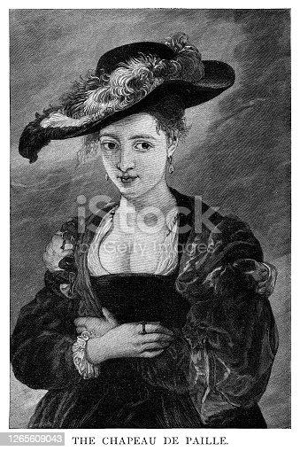 istock The Chapeau De Paille by Rubens 1265609043