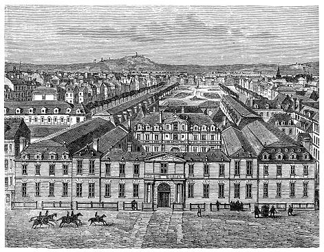 The Château de Richelieu was an enormous 17th century château (manor house) built by the French clergyman, nobleman, and statesman Cardinal Richelieu (1585–1642) in Touraine