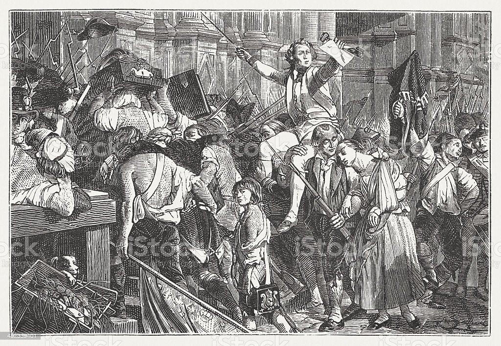 Révolution française - Illustration vectorielle