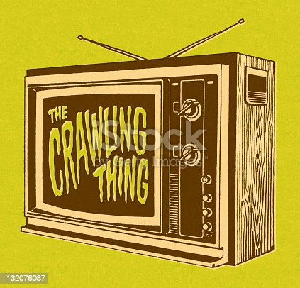 The Crawling Thing on TV