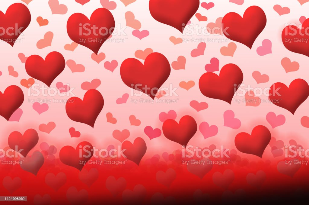 The day when love is born. Valentine, Blood donation, Christmas etc. vector art illustration