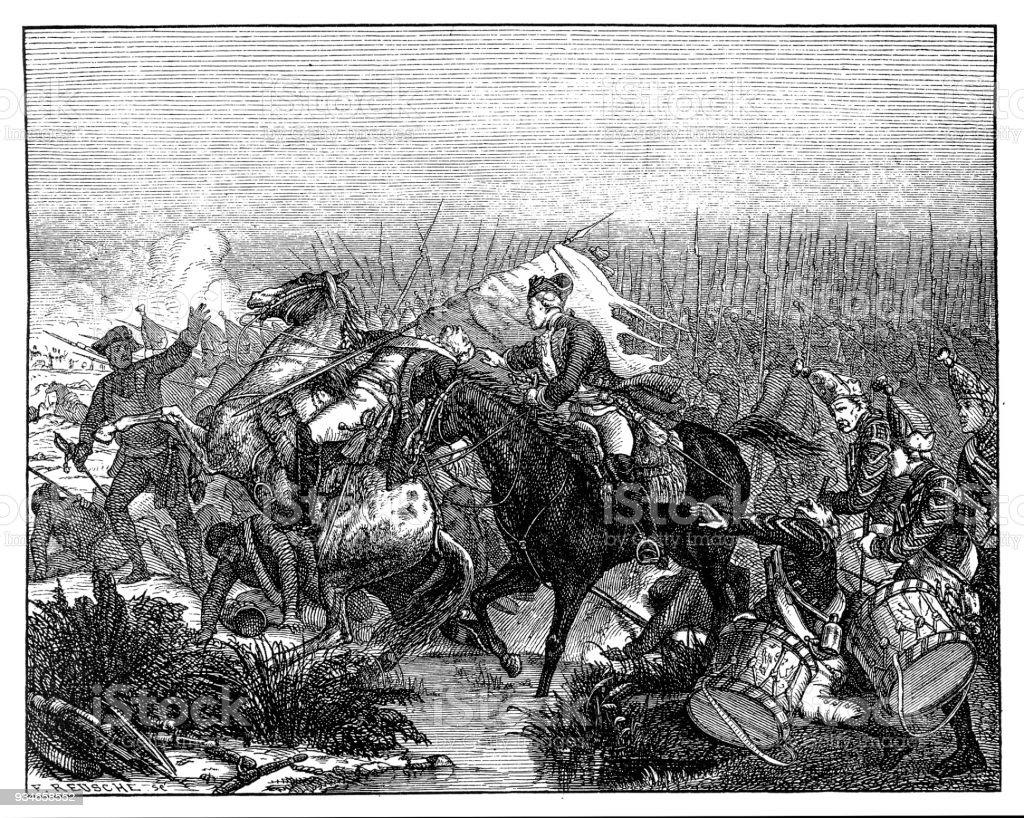 プラハの戦いオーストリア軍に並...